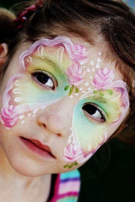 The Monterey County Fair | Facepainting | Butterfly face