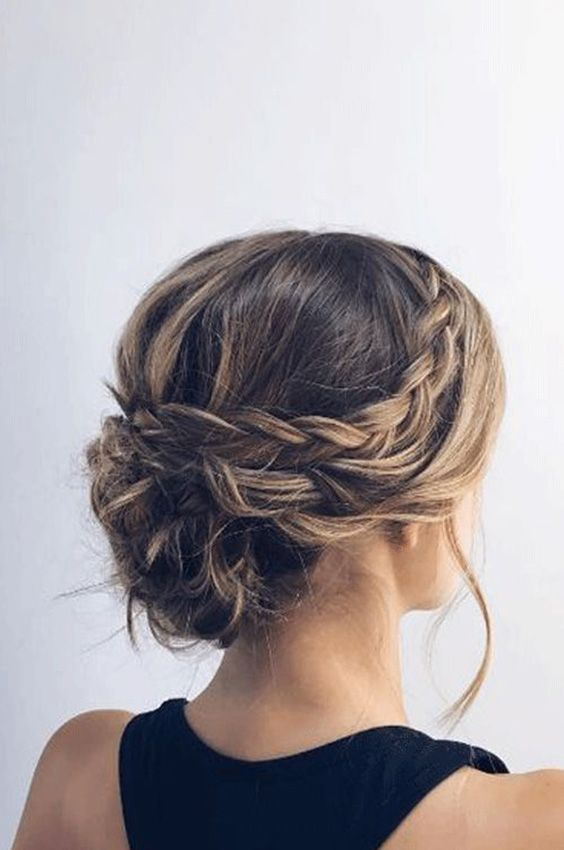 26 ideas of hairstyles with braid – #GuitaModa. Low coke