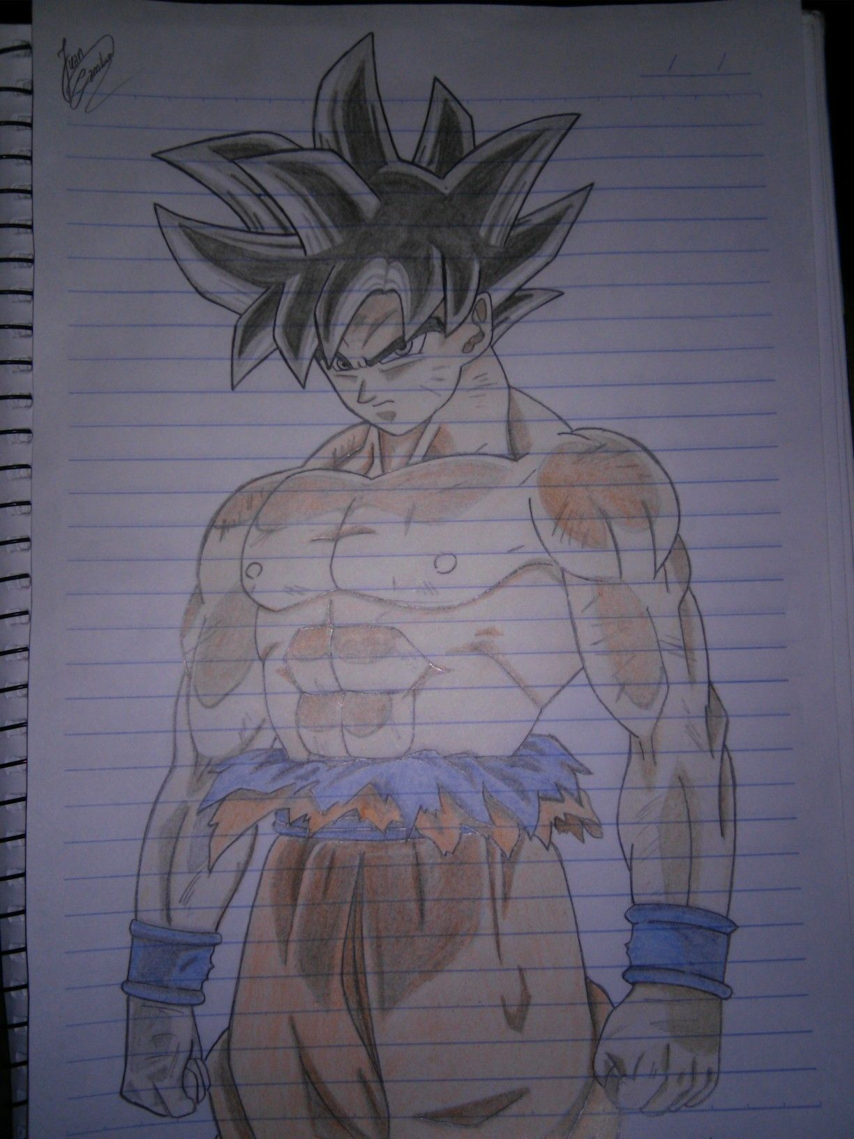 Goku Instinto Superior Dragon Ball Super Desenho Desenhos