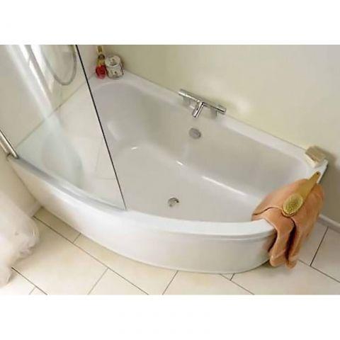 Clia Left Hand Offset Corner Bath Panel Corner Bath Shower