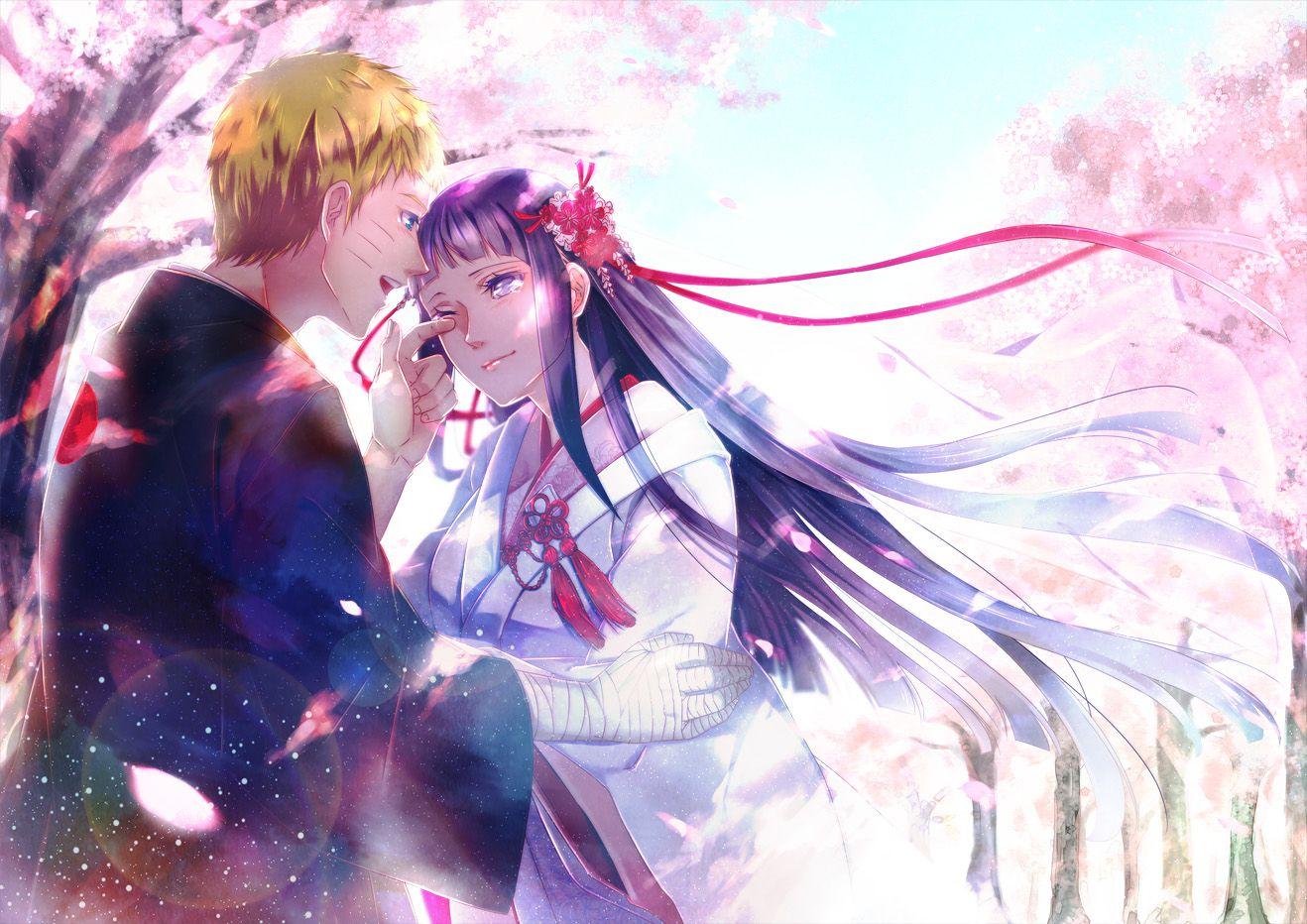 Naruto And Hinata Married Wallpaper Anime Wallpaper Pinterest
