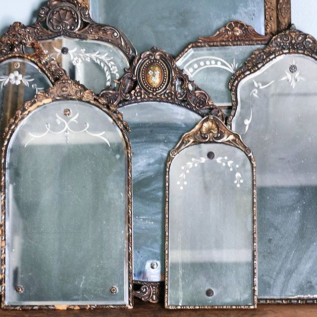 The most gorgeous mirror collection!