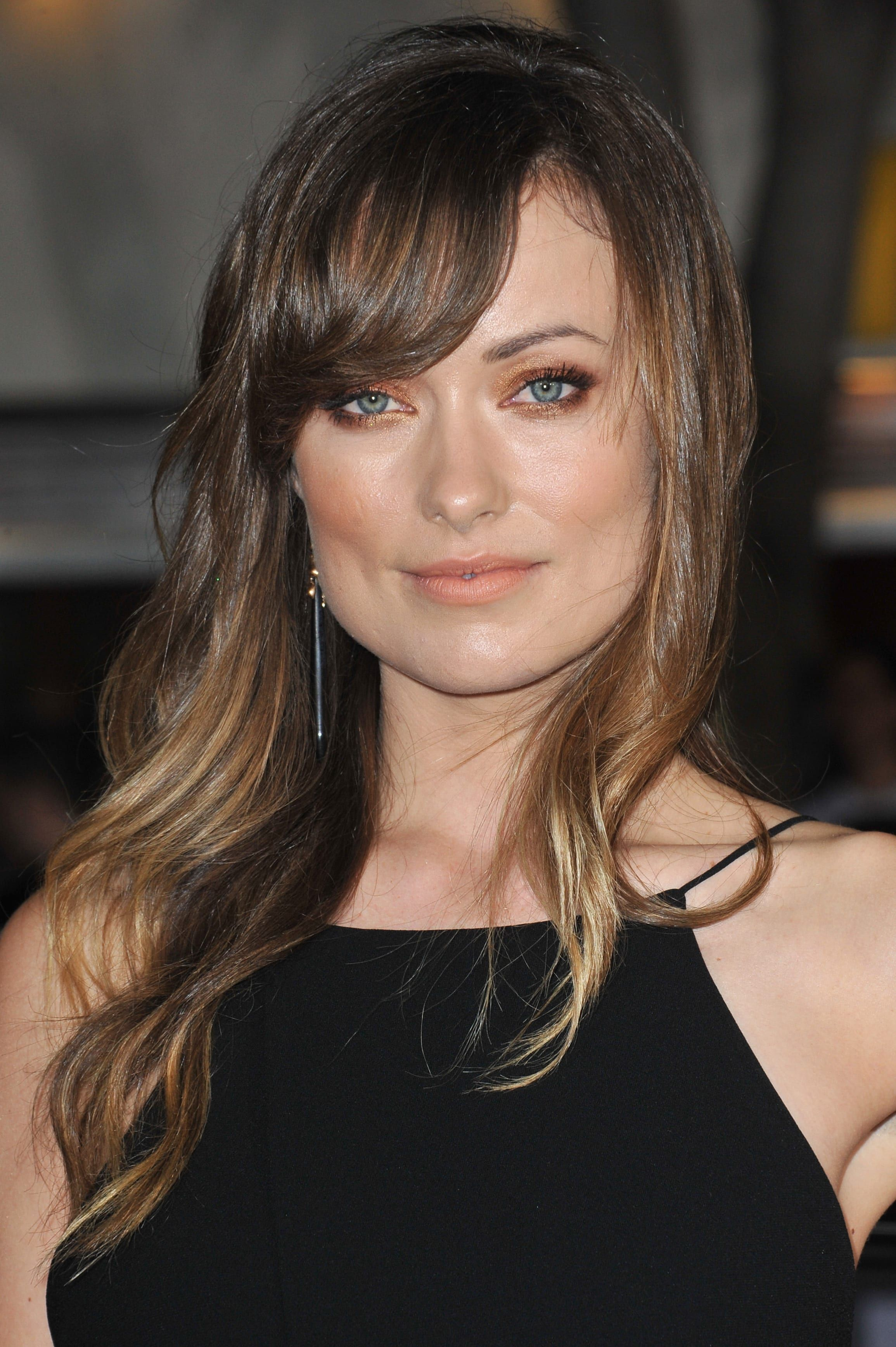 Olivia Wilde's Side Swept Bangs - Side swept bangs are one of those  hairstyles that always seem…   Haircut inspiration, Curly hair styles  naturally, Womens haircuts
