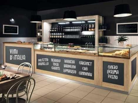 Preventivo arredamento pizzeria roma bakery bar for Pizzeria arredamento