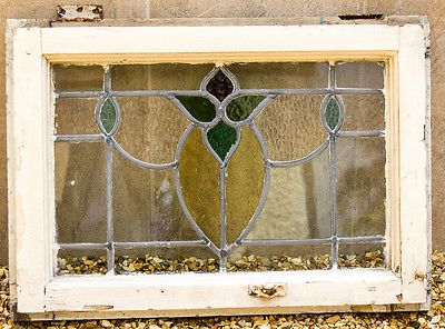 Attractive Arts and Crafts Stained Glass Window