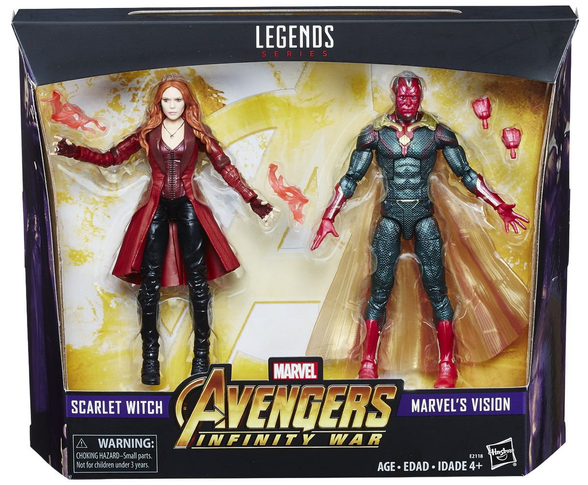 """Marvel Avengers Infinity War Scarlet Witch with Infinity Stone 6/"""" Action Figure"""