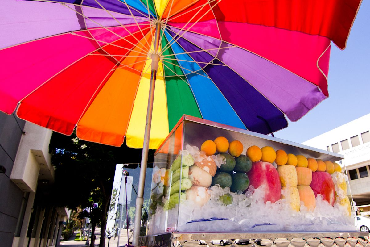 The Fruit Carts of Los Angeles Fruit, Spring recipes