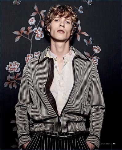 Sven de Vries by Ivan Genasi for Gentleman Magazine