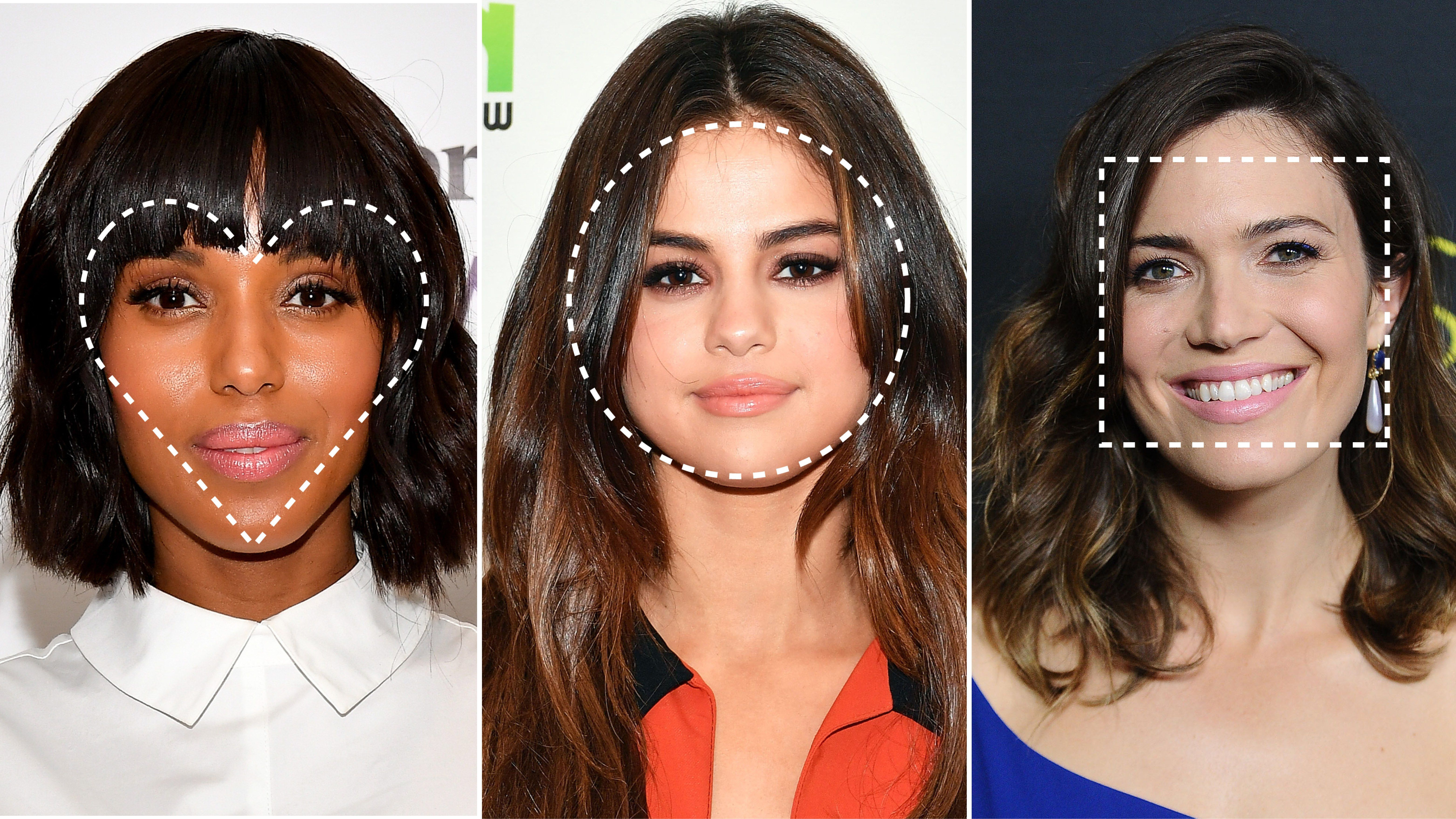 find the best haircut for your face shape | hair & makeup