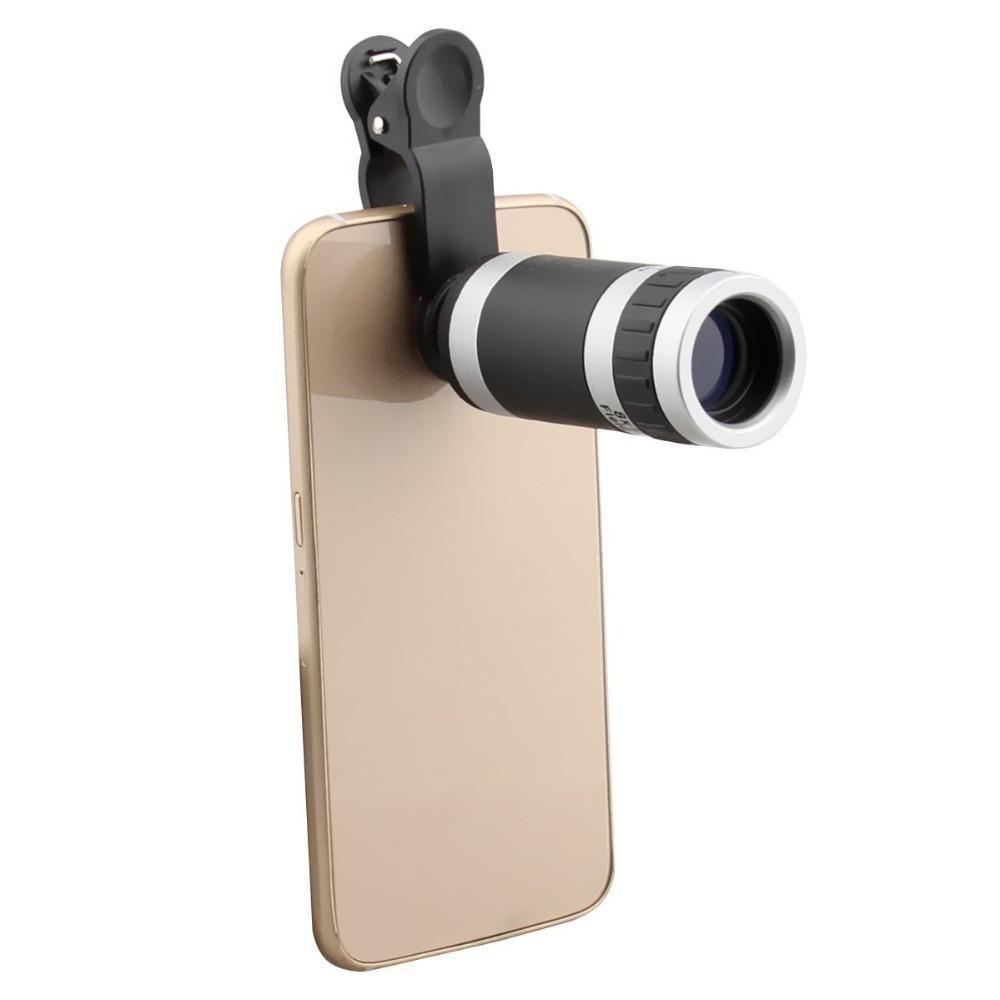 8X Zoom Telescope Phone Camera Lens
