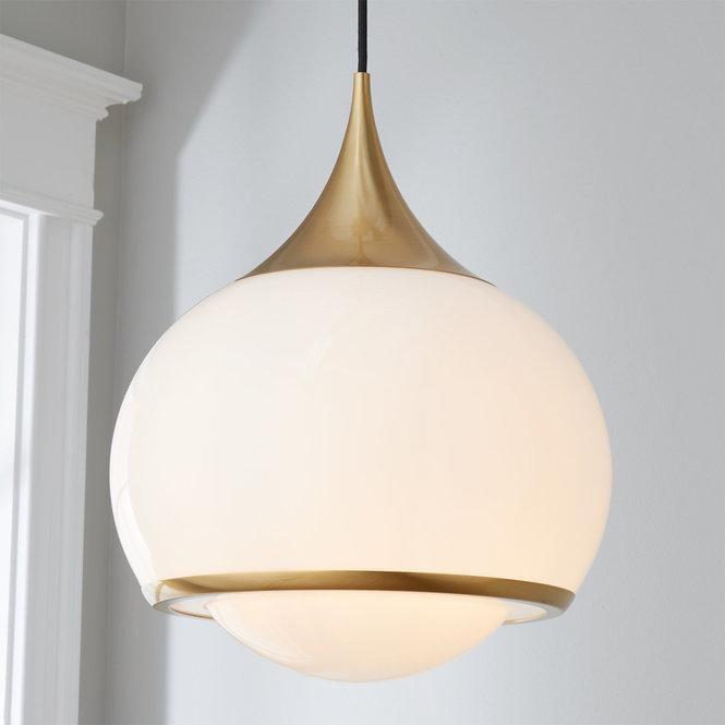 Diner Drop Pendant In 2020 Contemporary Pendant Lights Pendant