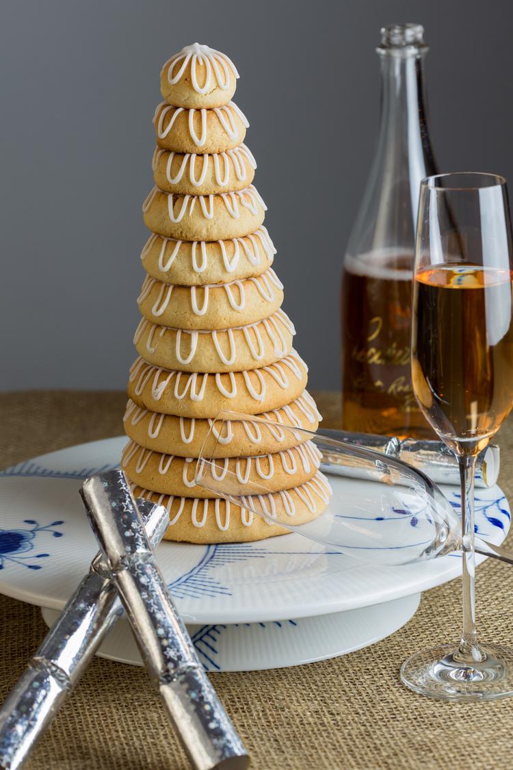 Kransekage - Danish Almond Cake — Sweet • Sour • Savory