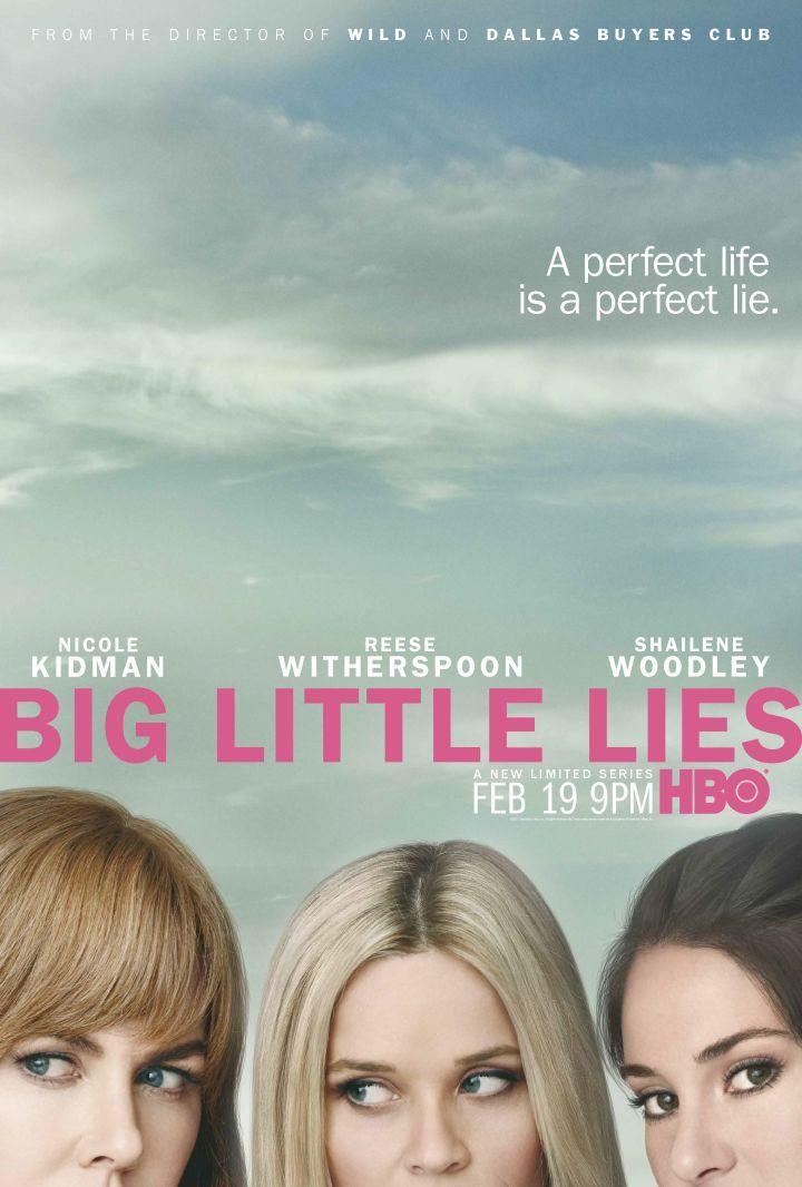 Big Little Lies official key art courtesy of HBO  La vimos con Julio