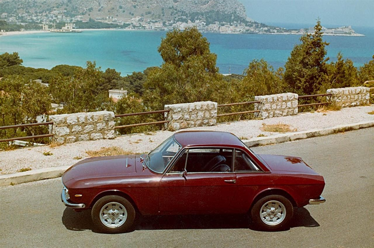 The Lancia Fulvia coupe - tight little beauty with a pert italian arse