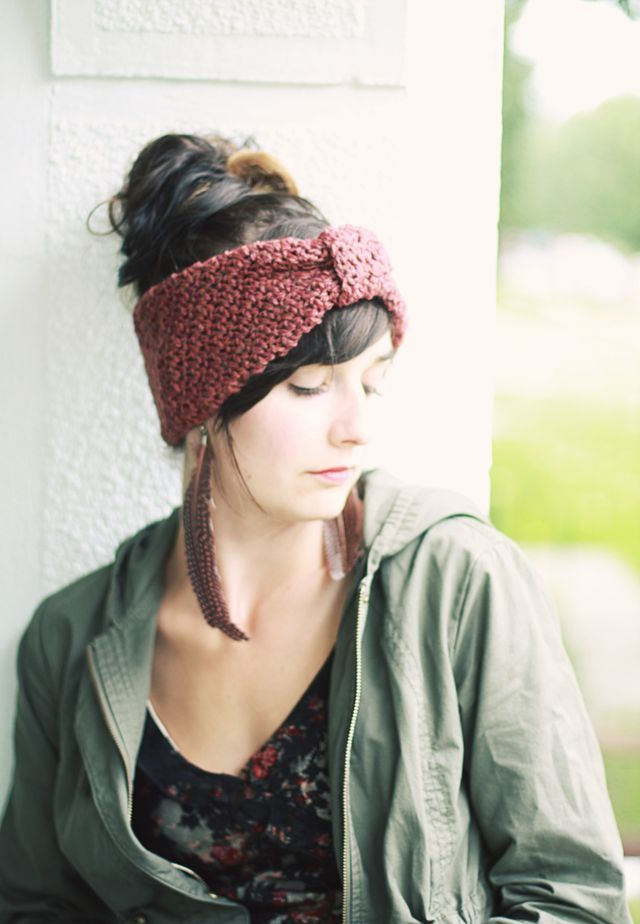 FREE Headwrap crochet pdf. Just oh so lovely, thanks so for sharin ...