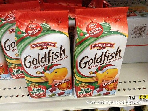 Holiday Colored Goldfish | Goldfish Crackers Flavors in 2019