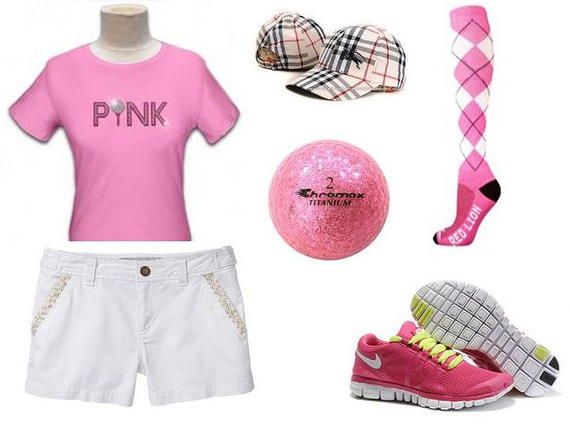 This should be the next pink ladies golf outfit!