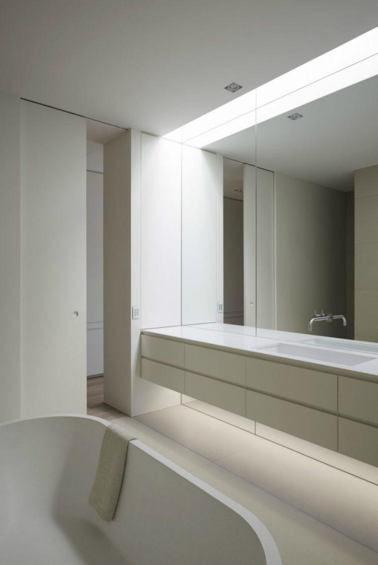 Grosser Zeitgenossischer Spiegel Ein Muss Fur Das Badezimmer Mit