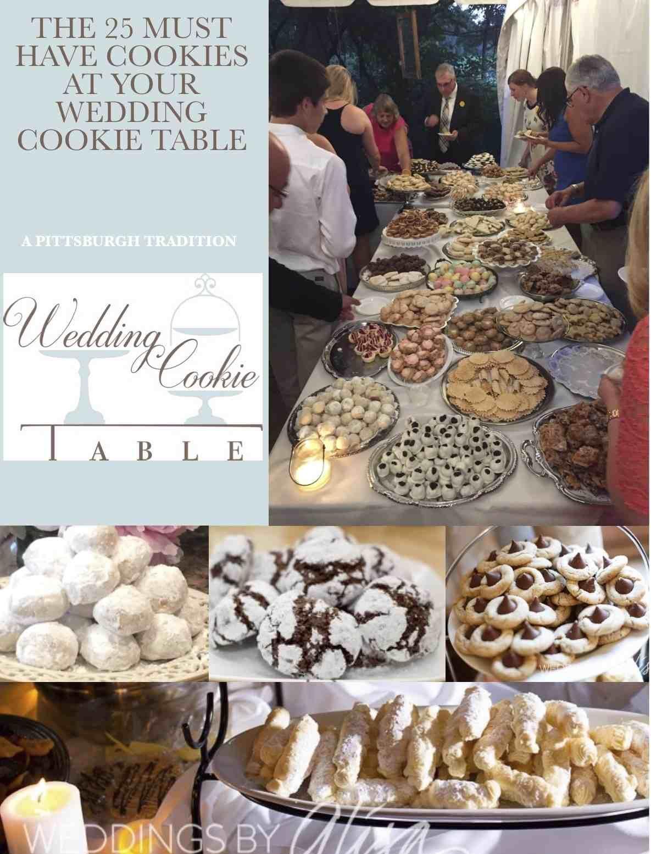 Wedding Cookie Table Cookie Table Wedding Cookie Table Pittsburgh Wedding Cookie Table