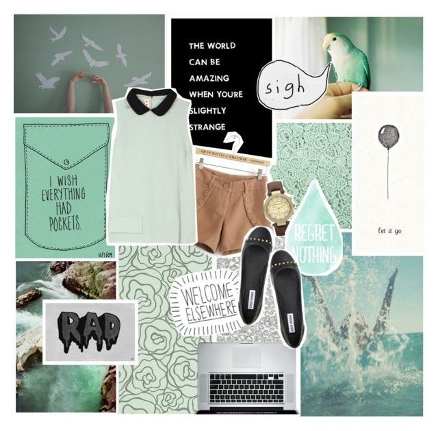 """Change it all, but can't change what we've been"" by abby-cannot-dance ❤ liked on Polyvore featuring City by Windsor, Crate and Barrel, Marni, Michael Kors and Steve Madden"