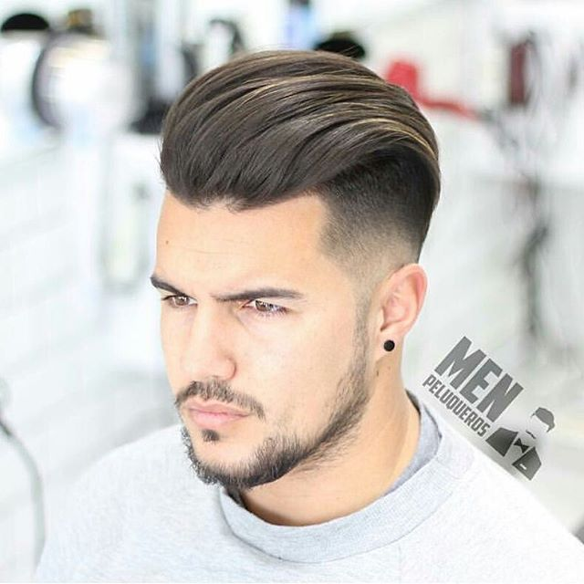 frisur nach hinten gestylt m舅ner | meilleure coiffure moderne