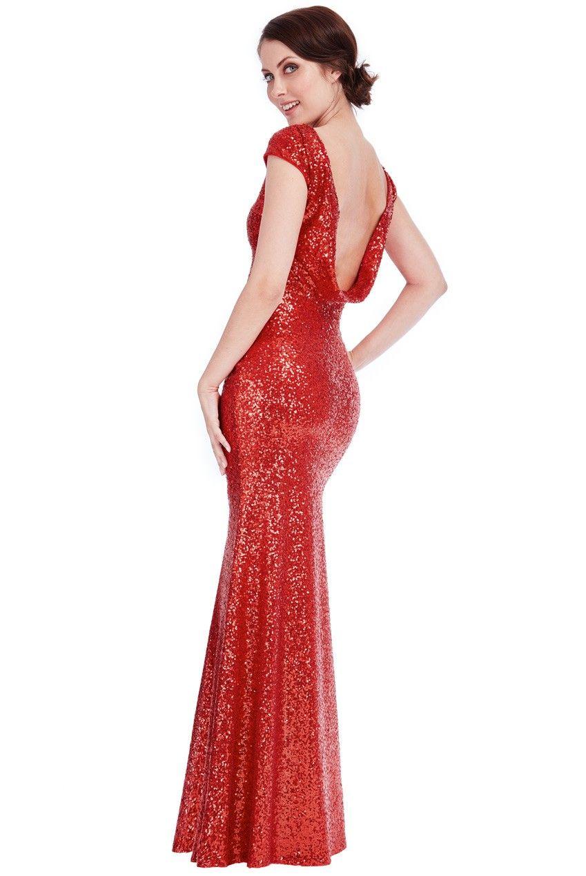 Open back sequin maxi dress red sequin maxi maxi dresses and