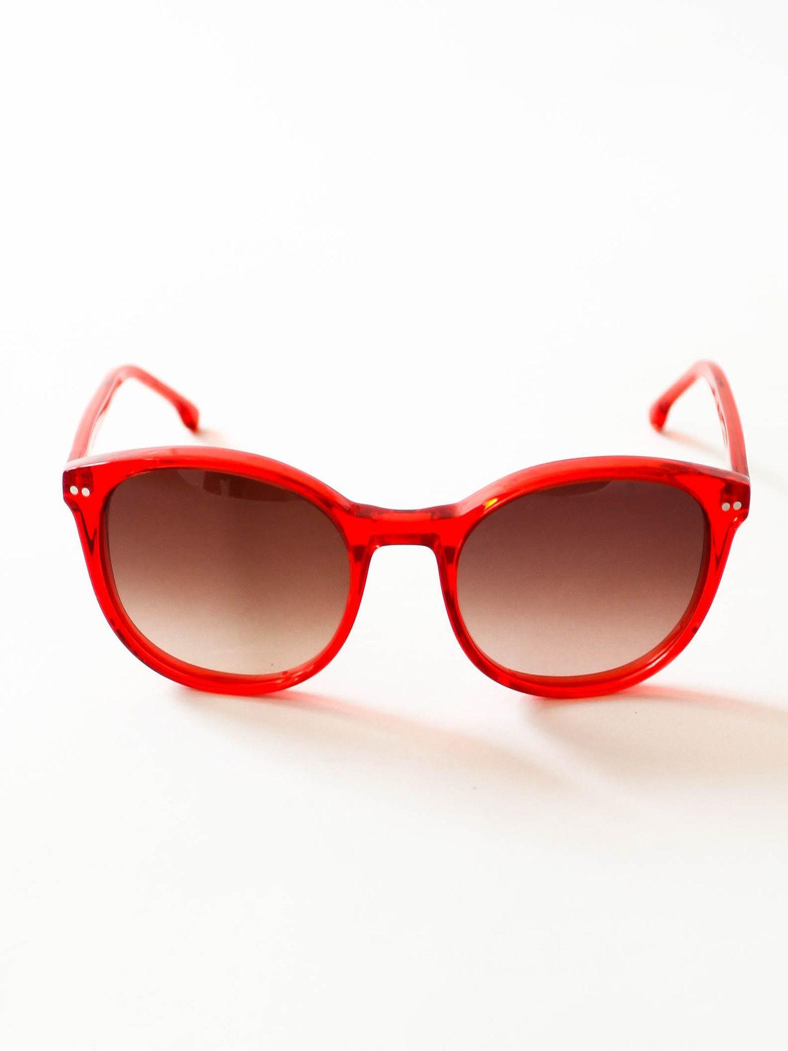 d4c2c84b29b Steven Alan Optical George Sunglasses - Bright Red Crystal