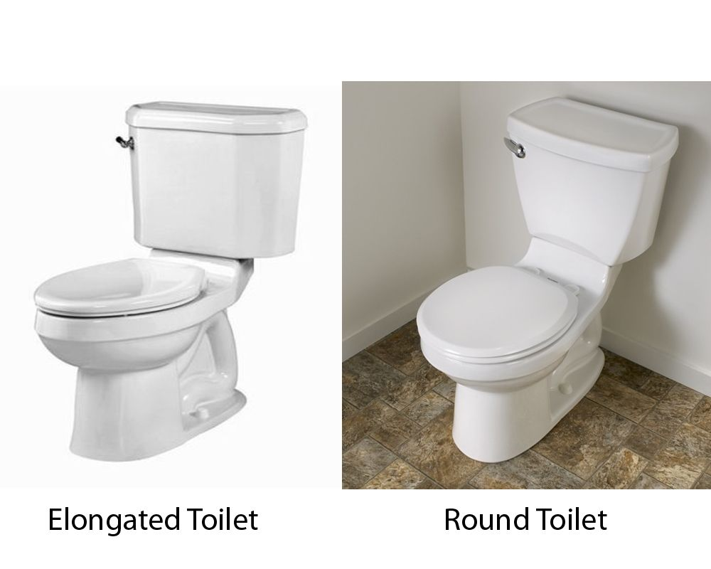 Round Front Vs Elongated Toilets