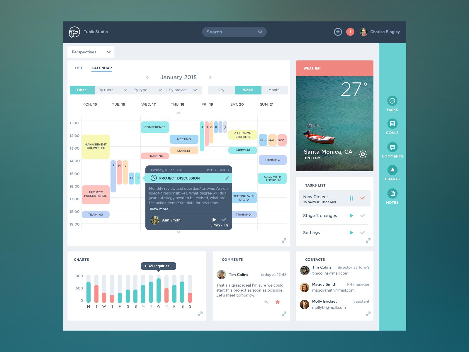 dashboard design ui ux design user interface design flat design