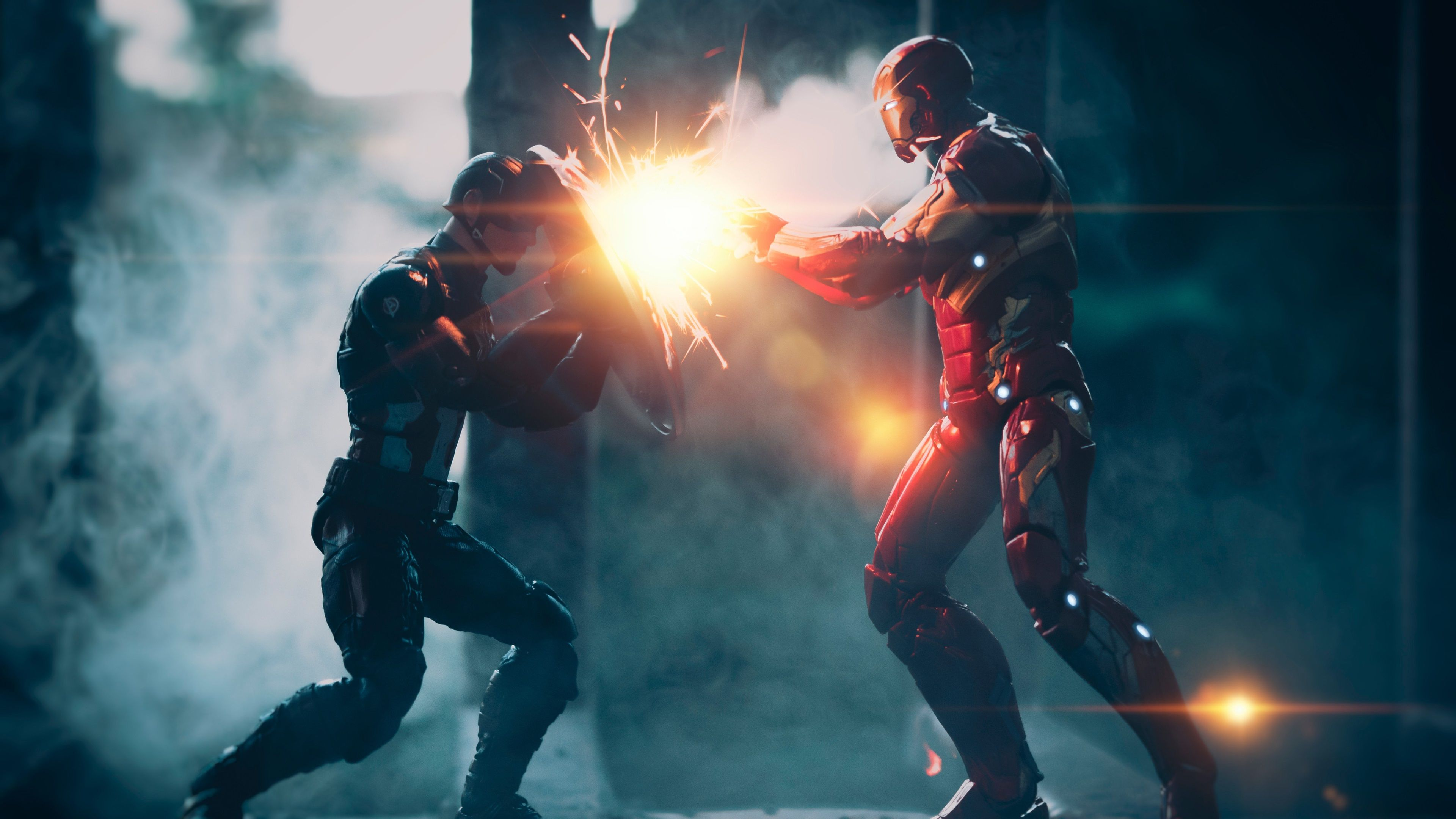 3840x2160 Captain America 4k Free Wide Hd Wallpaper Iron Man Vs Captain America Captain America Wallpaper Iron Man Wallpaper