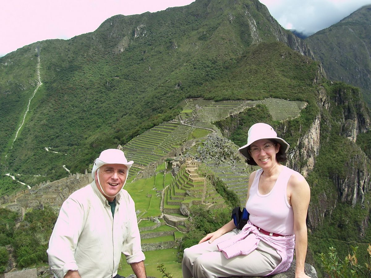 After a very short climb we made it to the top of Huchuy Picchu