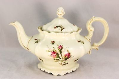 Htf Large Teapot Vintage Rosenthal China Set Moss Rose Pompadour Gold Ivory Mint 11 12 2013 Tea Pots Vintage Tea Pots China Patterns