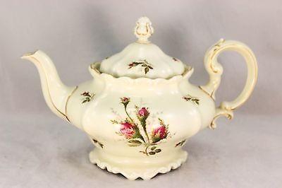 Htf Large Teapot Vintage Rosenthal China Set Moss Rose Pompadour Gold Ivory Mint 11 12 2013 Tea Pots Vintage Tea Pots China Patterns