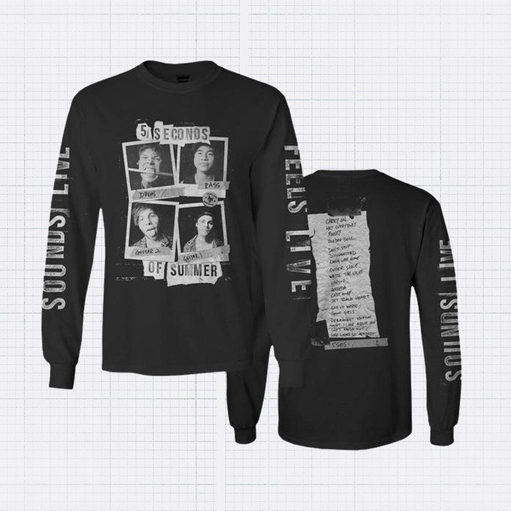 7346e5ef9 5 Seconds Of Summer: Shop this and more merch in the official store ...