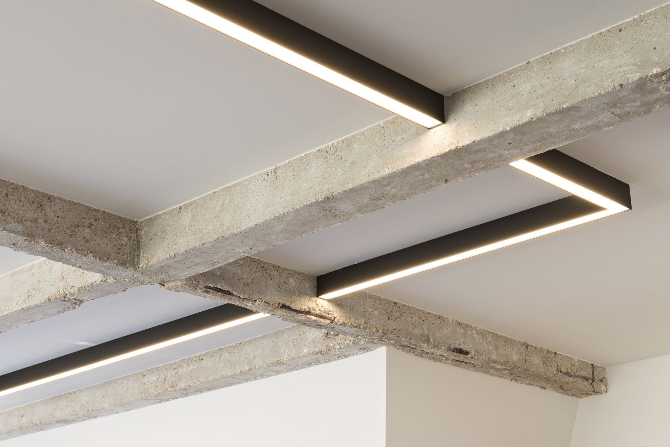 Amazing Ceiling Structure With Our #Supermodular Sld50 Lighting