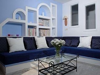 Greek Home Decoration Living Room Greek Isle Home Pinterest