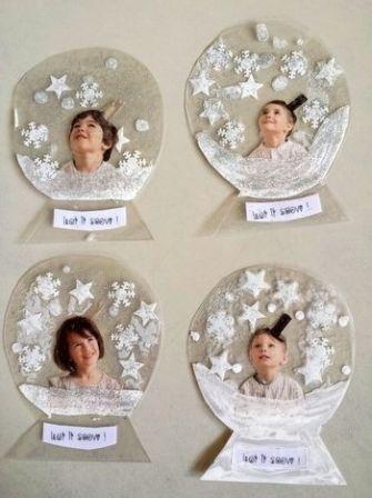 Bulles de d c 2014 arts plastiques no l pinterest no l activit et hiver for Combricolages noel maternelle