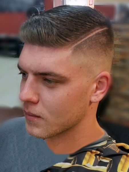 Zero Side Part Slick Barbershops Pinterest Hair Cuts Short