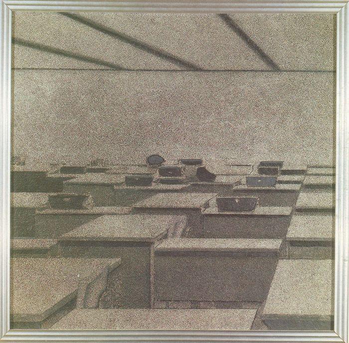 Richard Artschwager - Office Scene (1966)
