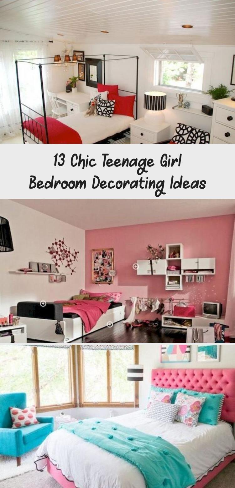 13 Chic Teenage Girl Bedroom Decorating Ideas  Decor
