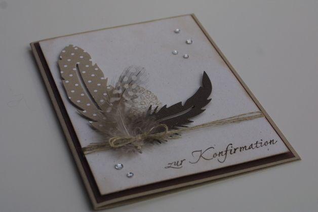 Glückwunschkarte zur Konfirmation / Kommunion