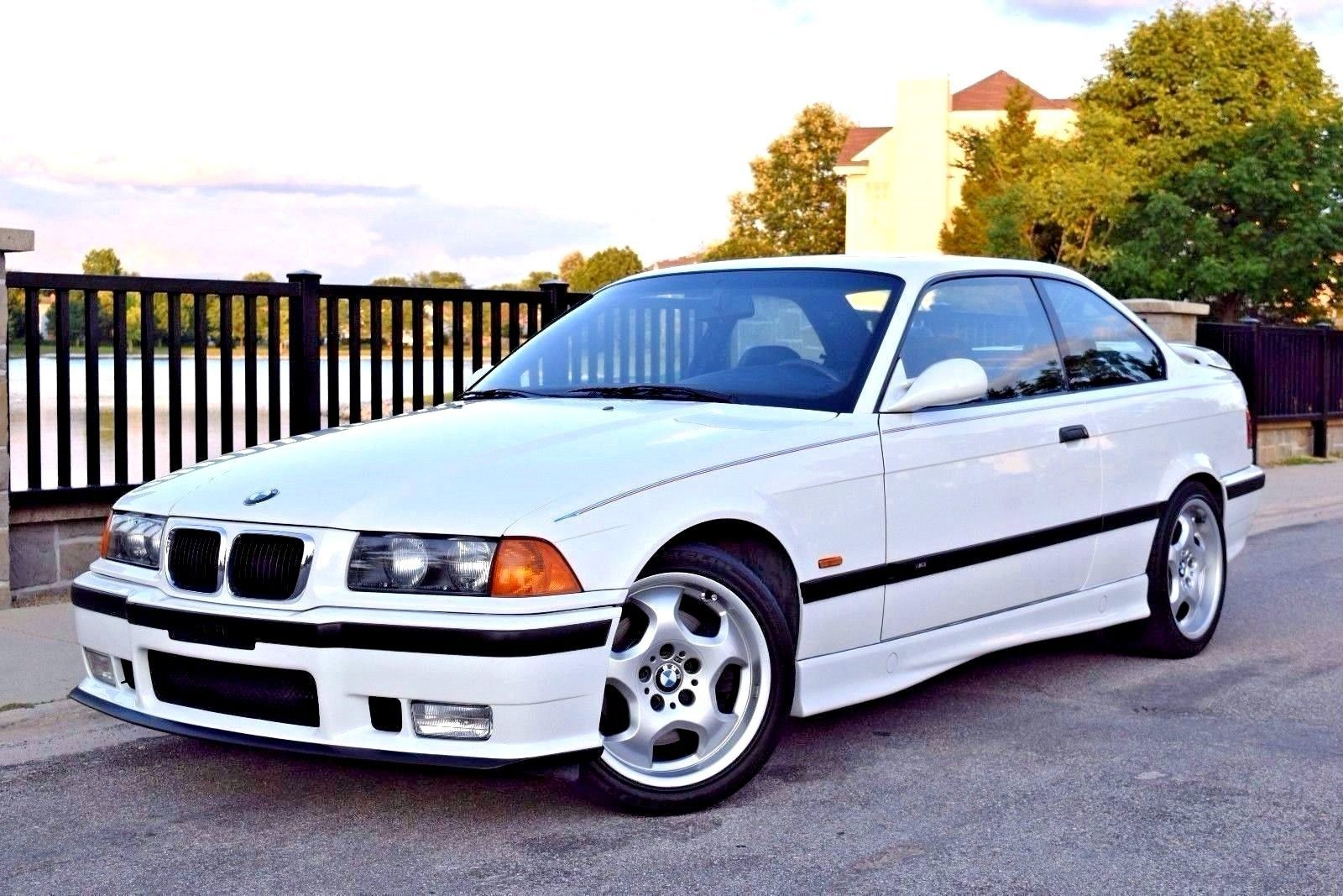 Awesome Amazing 1999 BMW M3 1999 BMW M3 Coupe Alpine White/Black Vader  Seats 100% Stock Immaculate 35k Miles 2018