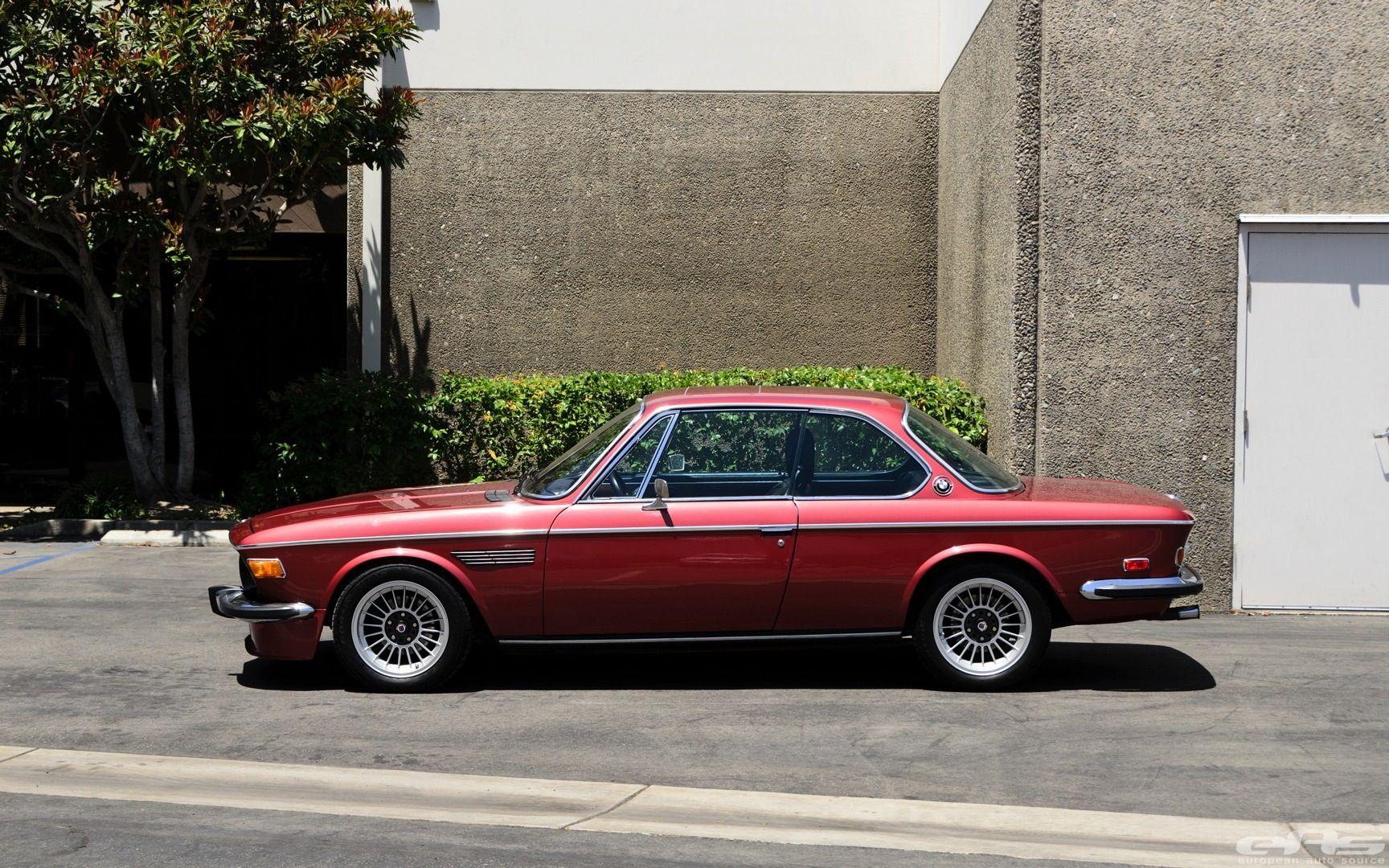 1974 Bmw 3 0cs Gets Lowering Springs 車