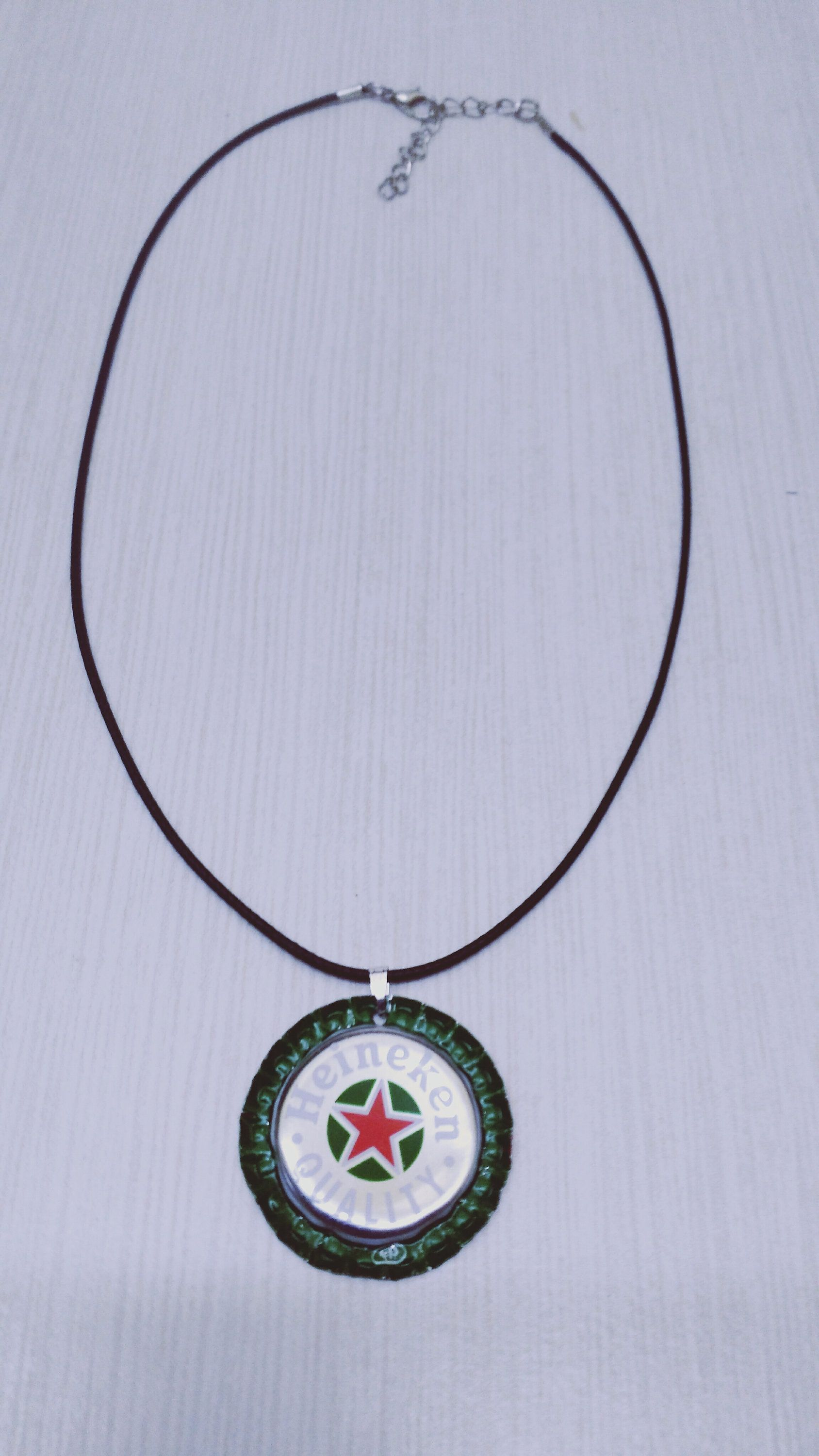 collier homme rond