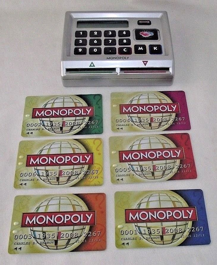 Monopoly Here Now World Edition Electronic Banking Bank Unit