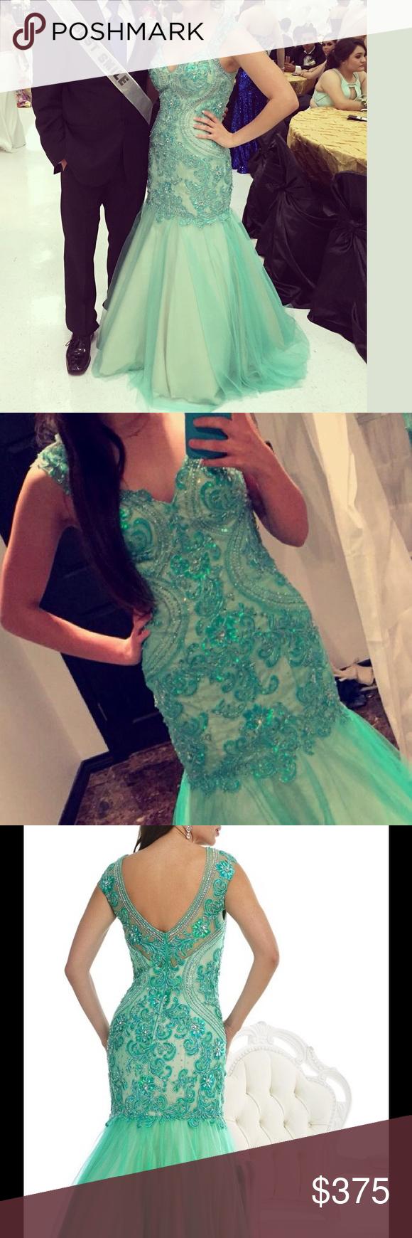 Prom dressevening gown my posh picks pinterest