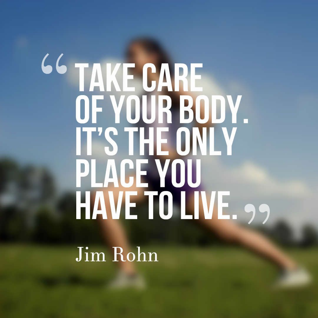 Health is wealth take care of yourself quotes