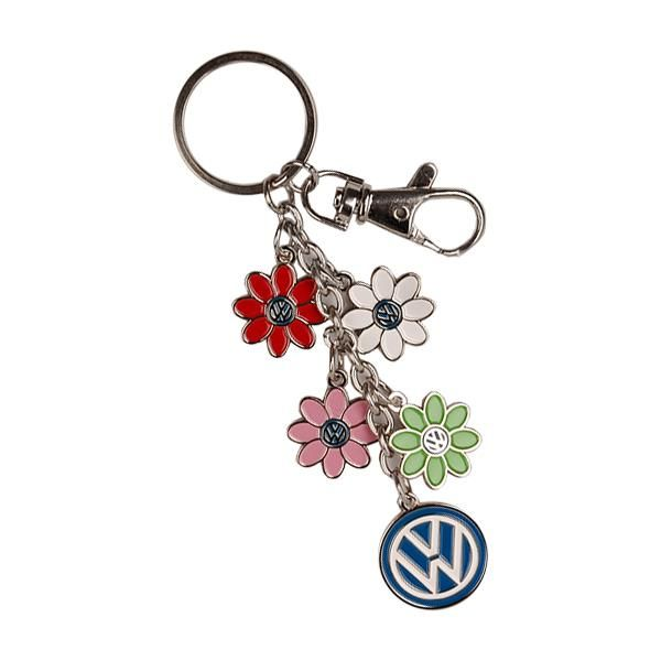 DRG008995 - Daisy Dangle Keychain - Genuine Volkswagen Accessory #volkswagen