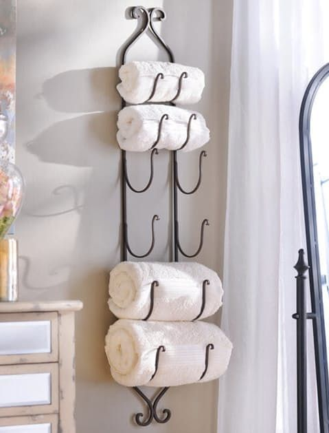 9 Genius Ways To Store Bath Towels Bath Towel Storage Bathroom