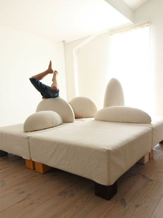 Ecological And Funny Furniture For Kids Bedroom By Hiromatsu Pictures Gallery